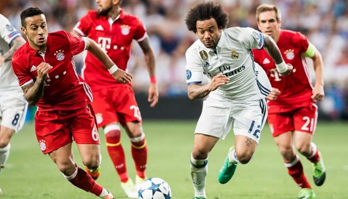 Dove Vedere BAYERN MONACO REAL MADRID Streaming Diretta Live Online | Calcio Champions League in chiaro su Canale 5