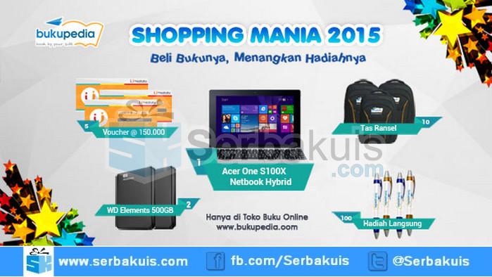Undian Bukupedia Shopping Mania Hadiah Acer One S100X
