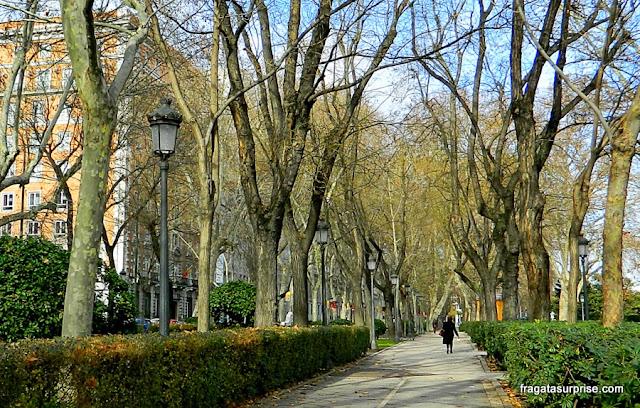 Madri - Paseo del Prado