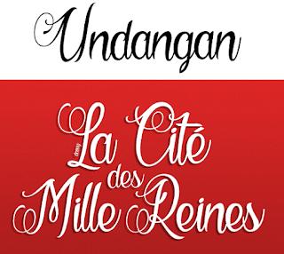 Download 40+ Font Latin Keren Untuk Desain Undangan Pernikahan, La Cité des Mille Reines