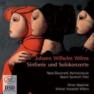 Wilms, J.W.: Piano Concerto, Op. 12 / Symphony, Op. 14 / Flute Concerto, Op. 24