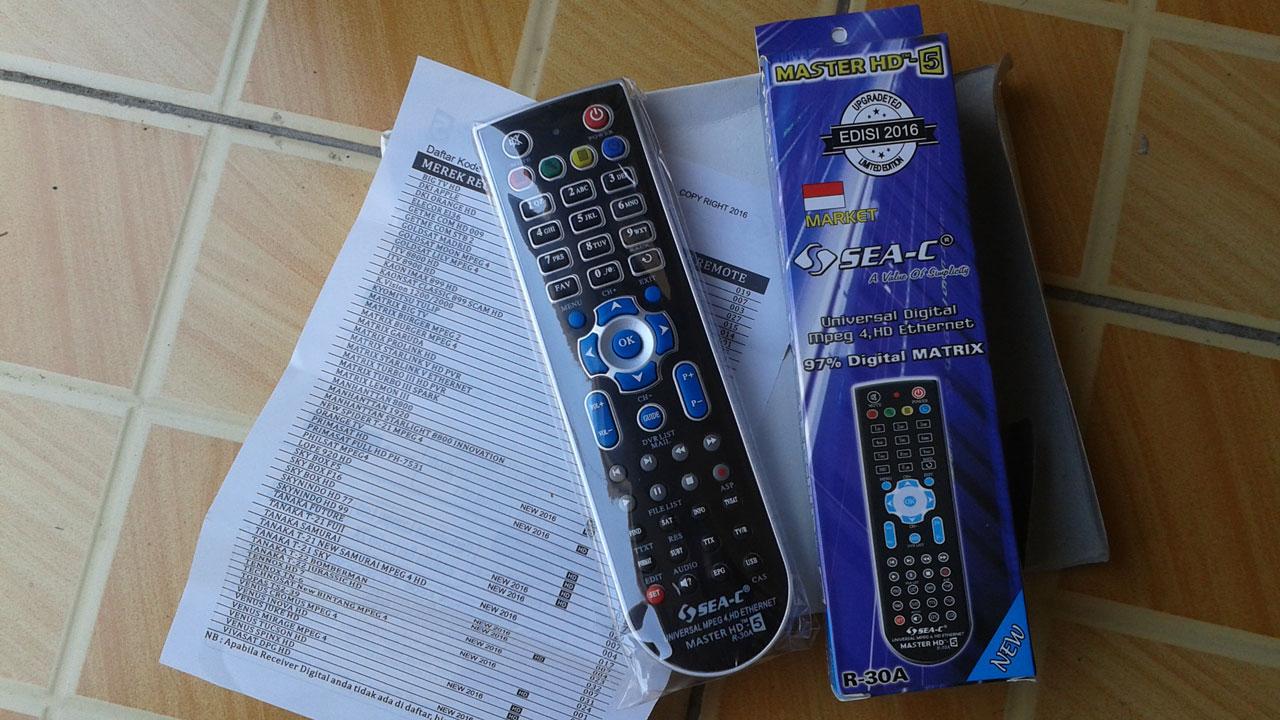 Harga Remote Receiver Universal Master HD