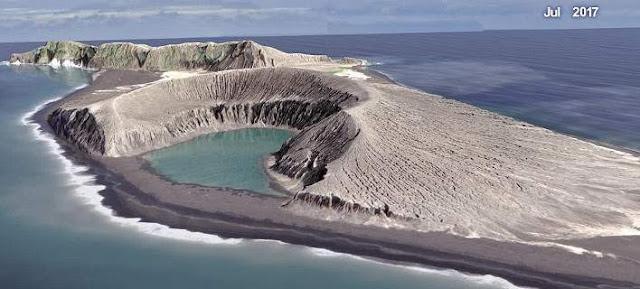 Απίστευτο: Δείτε πώς δημιουργήθηκε μυστηριωδώς το νεότερο νησί στον κόσμο (βίντεο)