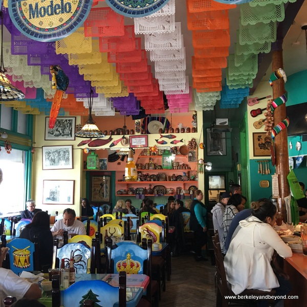 interior of San Jalisco in San Francisco's Mission District