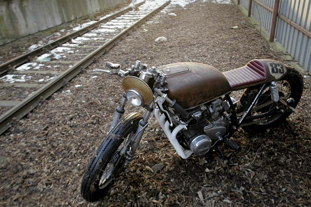 rafal rodents honda cb550 ~ return of the cafe racers