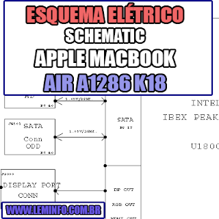 Esquema Elétrico Notebook Apple A1286 K18 Macbook Pro Laptop Manual de Serviço  Service Manual schematic Diagram Notebook Apple A1286 K18 Macbook Pro Laptop   Esquematico Notebook Apple A1286 K18 Macbook Pro Laptop