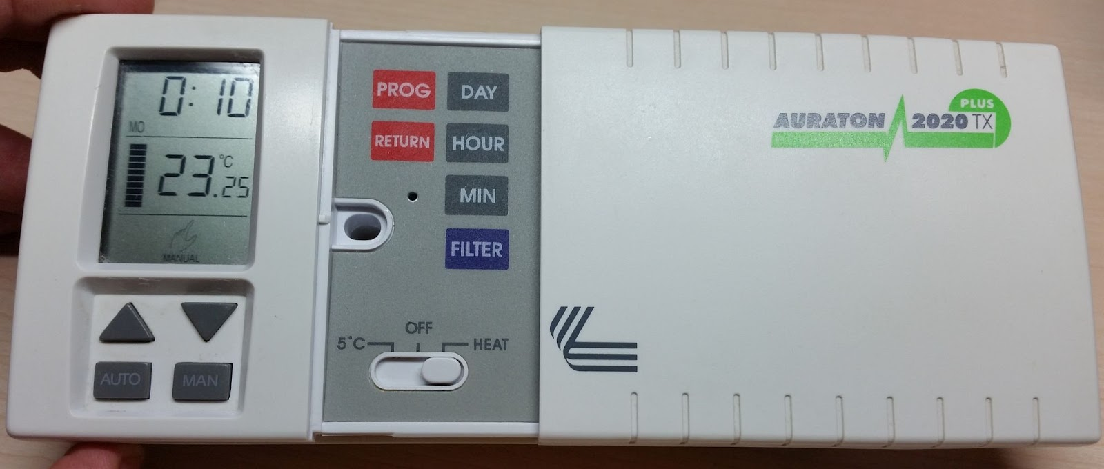 Hack Correlation: Inside stuff - Auraton 2020 TX/RX thermostat