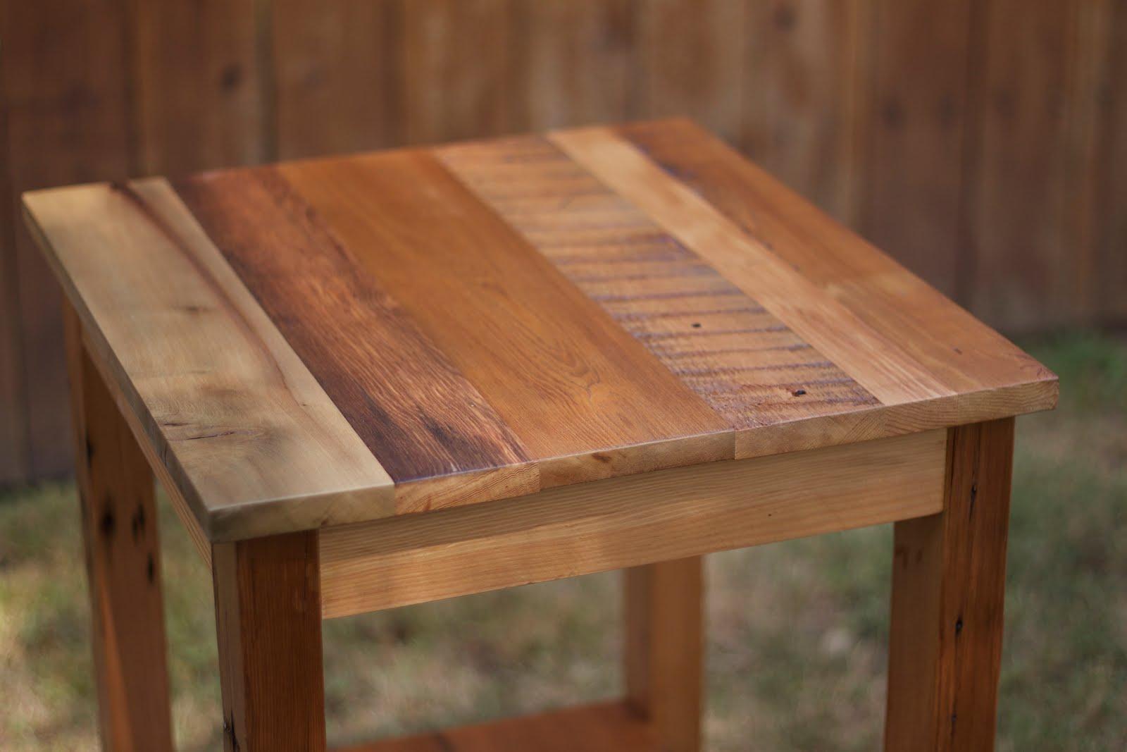 Arbor Exchange Reclaimed Wood Furniture Patchwork End