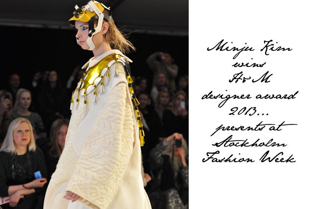 Watching The Future Of Fashion With H M Design Award 2013 Winner Minju Kim Fashion Foie Gras