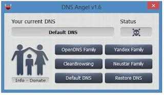 أفضل, تطبيق, ويندوز, لتغيير, الـ DNS, وحجب, وحظر, المواقع, السيئة, DNS ,Angel