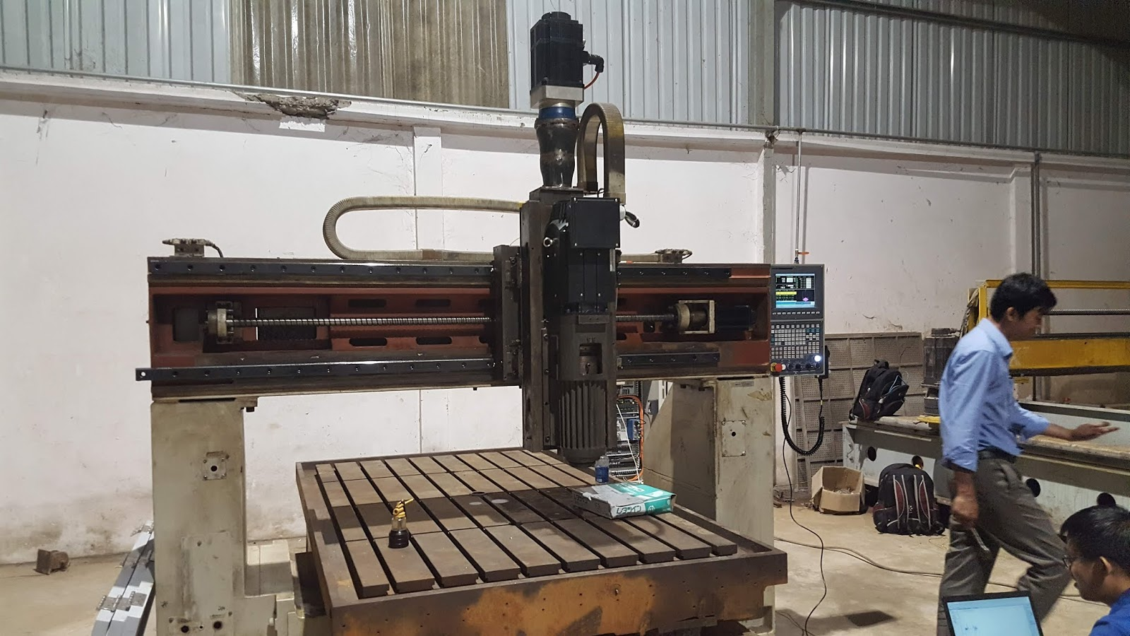 Retrofit CNC mill machine use SYNTEC controller