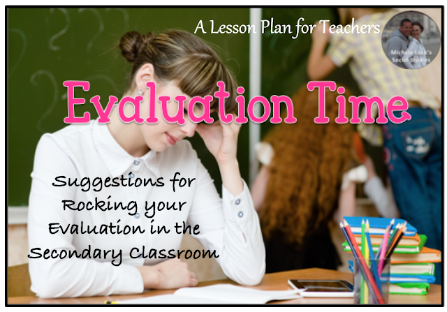 Suggestions for a positive evaluation in the secondary classroom.