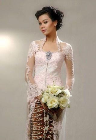 model kebaya pengantin masa kini
