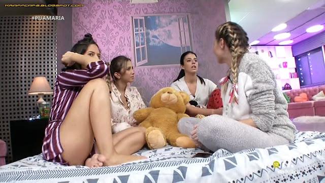 Núria Marín en pijama