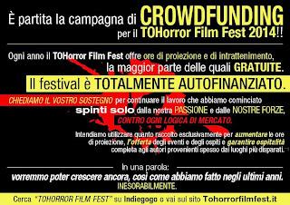 ToHorror Film Festival crowfunding