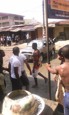 75 Three Children Crushed To Death By Female Driver Who Suffered Brake Failure In Abia (Graphic Photos)