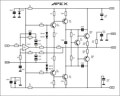ARWIS' BLOG: Skema Power Amplifier 50 Watt (Apex B50)