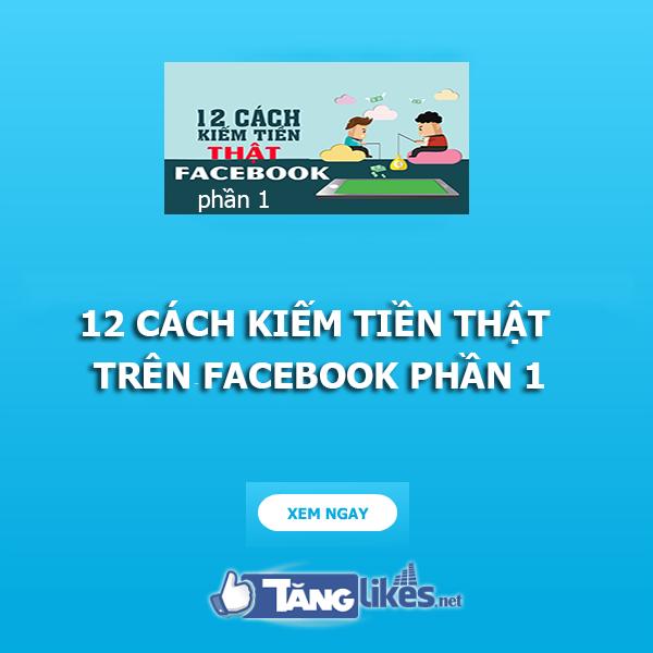 kiem tien tren facebook