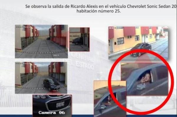 Chofer que mató a Mara Fernanda sonrió tras salir del Motel donde le arrebató la vida.