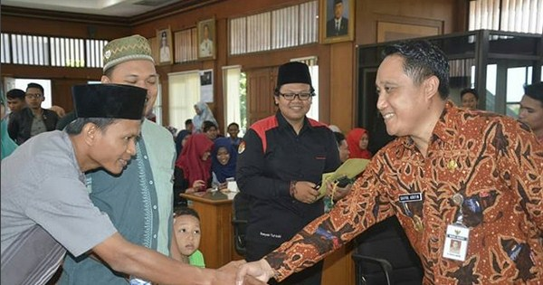 Halal Bihalal Dengan Mahasiswa dan Pelajar, Wabup Saiful Arifin Berikan Wejangan Ini