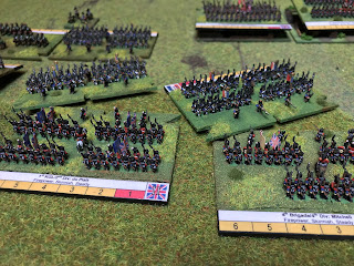 The French begin their first attacks uphill
