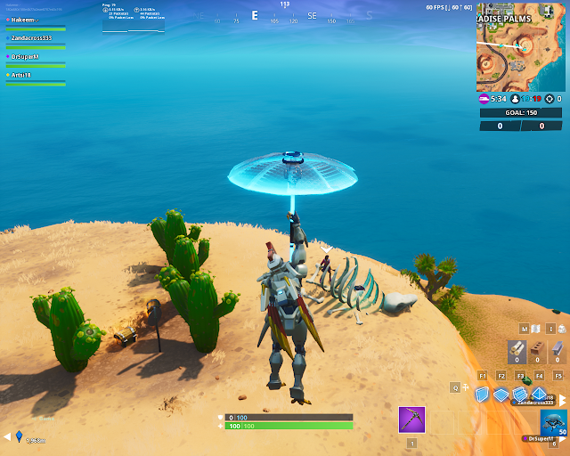 Accessible in the daytime near a mountain top cactus wedge FORTBYTE Mission #81