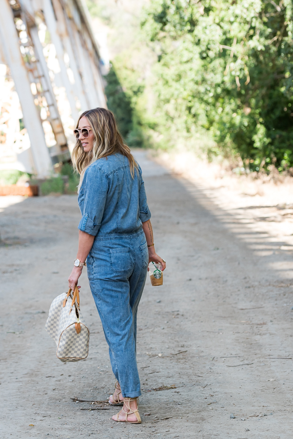 long denim jumpsuit parlor girl