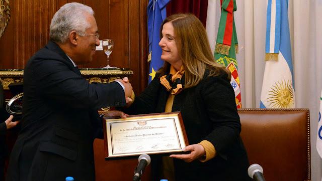 Carmen Polledo y Antonio Costa
