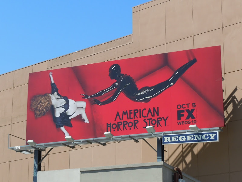 American Horror Story TV billboard