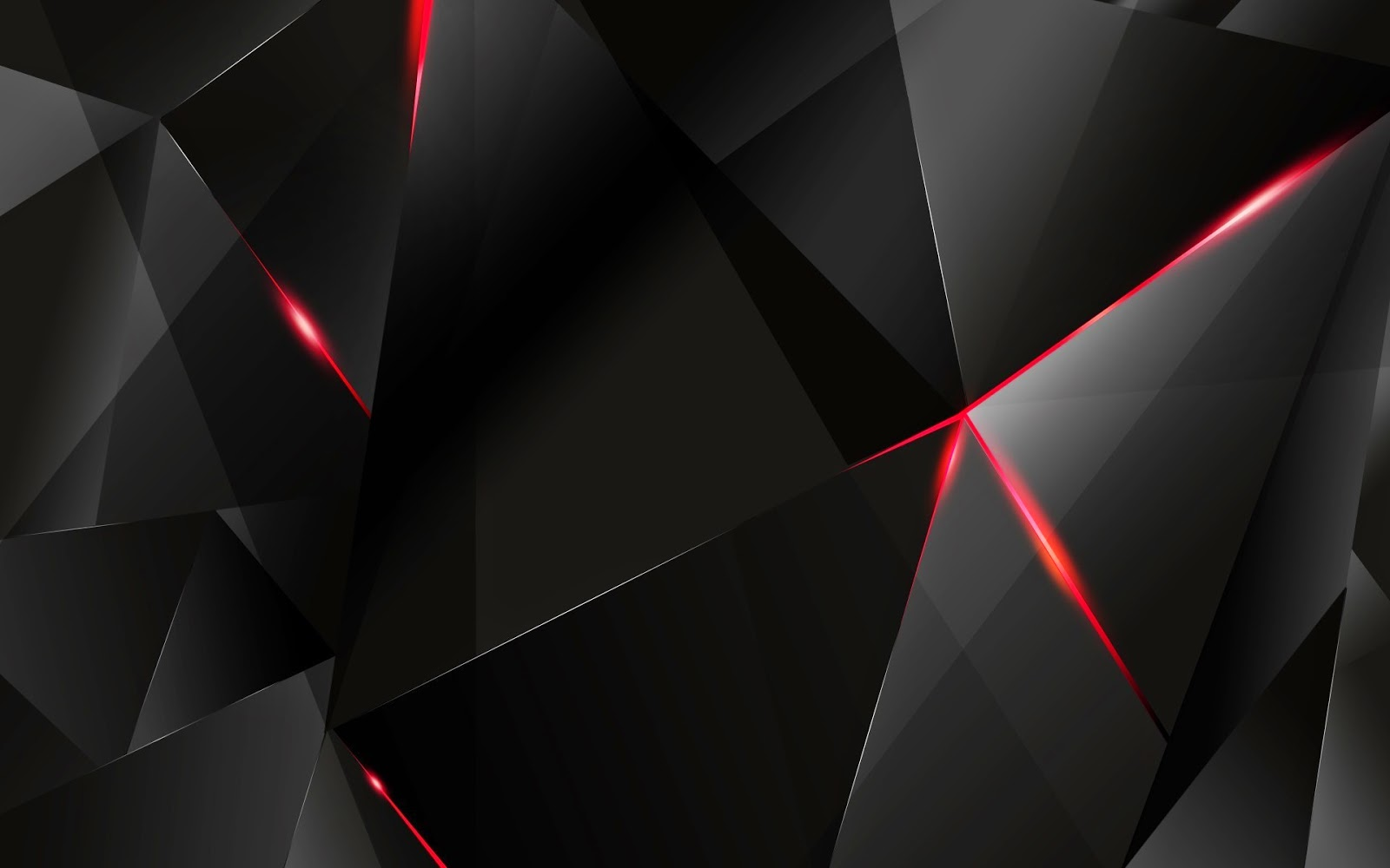 Best Cool Wallpaper Collections 3d Black Polygon Wallpaper