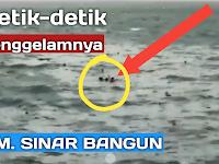 Tenggelamnya Kapal KM. Sinar Bangun di Perairan Danau Toba Prapat
