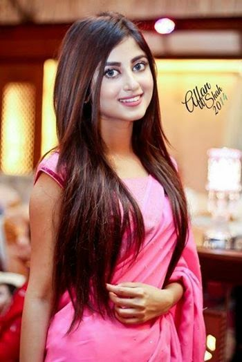 Dua Malik Wedding Walima Pics - hair style