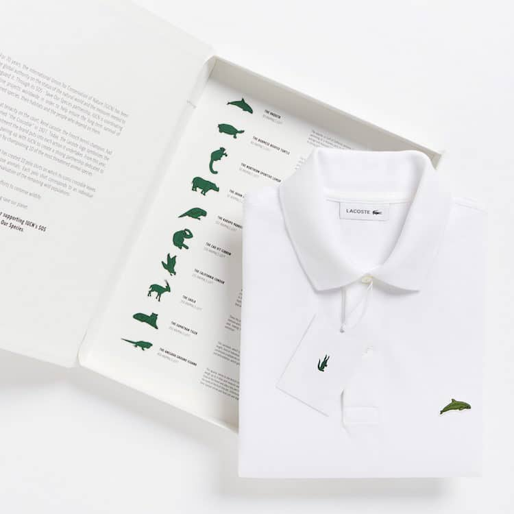 Lacoste Replaced Its Crocodile Logo With The Images Of 10 Endangered Species To Raise Awareness
