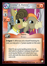 My Little Pony Cranky & Matilda, Dedicated Couple Equestrian Odysseys CCG Card