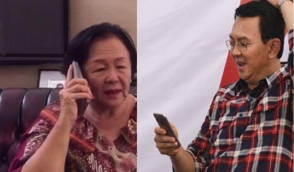 Ahok Telepon Mama Minta Doa Restu Sebelum Jalani Pemeriksaan