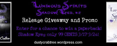 Tangled Tuesday - Luminous Spirits by Dusty Crabtree #newrelease #giveaway #youngadult #paranormal