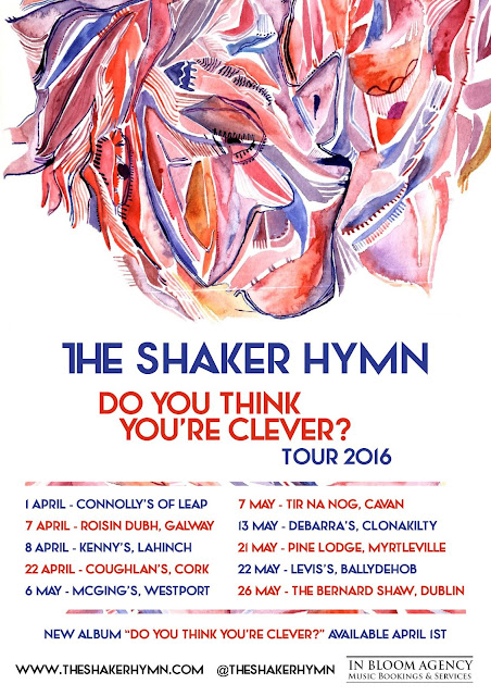 The Shaker Hymn Do You Think You're Clever Tour 2016