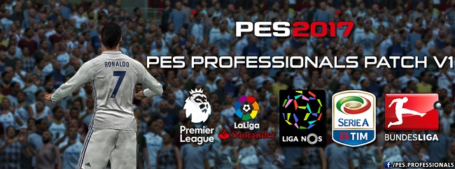 PES Professionals Patch 2017 v1.0
