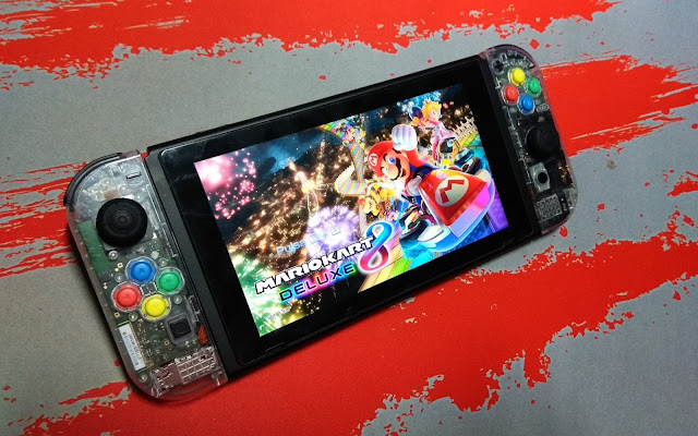 joy-con modding shell