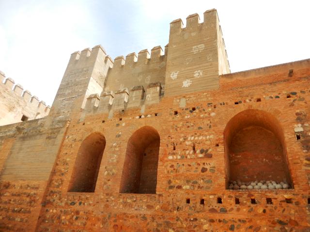 Alcazaba in Alhambra Granada