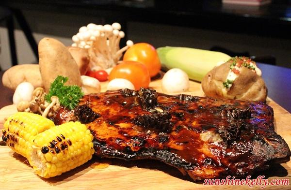 Honeycomb Glazed Pork Ribs, White Horse Tavern Ampang, White Horse Tavern, Bar & Restaurant