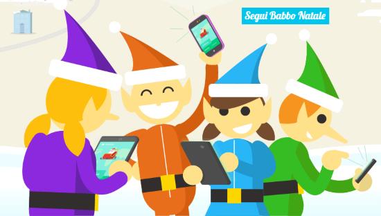 Segui Babbo Natale - Letychicche