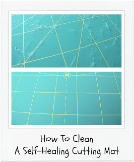 How To Clean A Self-Healing Cutting Mat [Tutorial] by www.madebyChrissieD.com