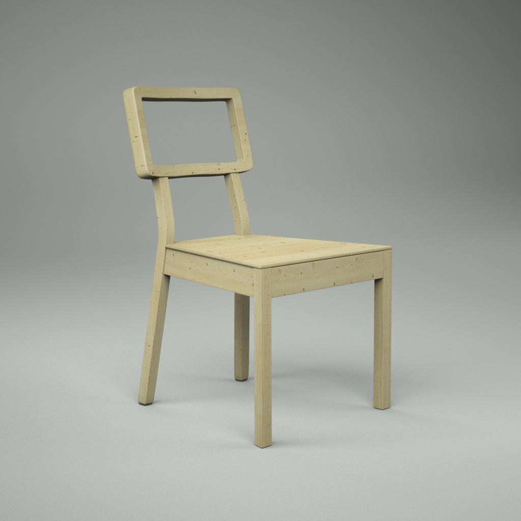 Cordoba Chair 3D Model Download fbx obj dxf blend
