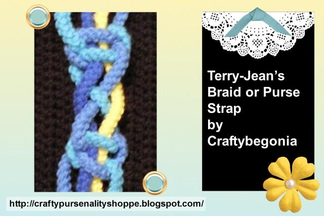 Craftybegonias Pursenality Shoppe Terry Jeans Braid Or Purse Strap