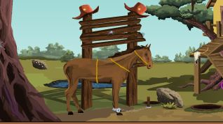 Play Games4escape Cowboy Horse…