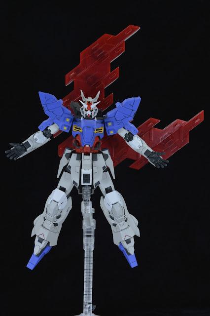 Gunpla by GoodGuyDan: HG AMS 123X-X Moon Gundam