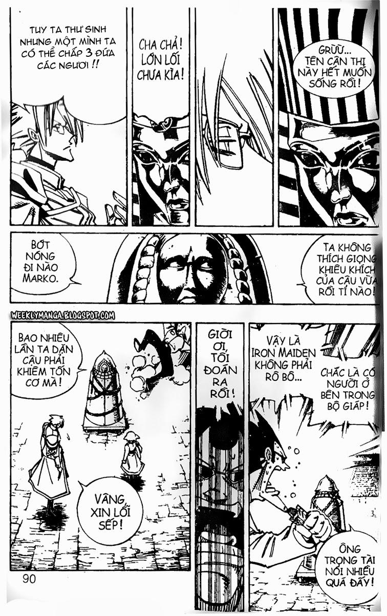 Shaman King [Vua pháp thuật] chap 121 trang 14