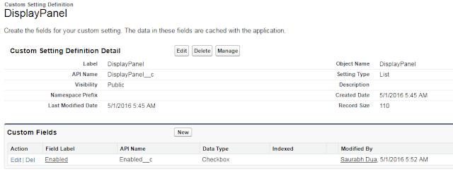 Custom Settings Salesforce