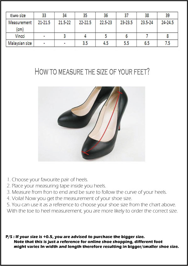 Motte Preorder Sizing Chart